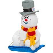 Wobblin' Taboggans-Frosty the snowman
