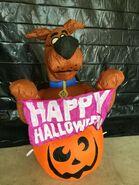 Gemmy Prototype Halloween Inflatable Scooby-Doo in Pumpkin