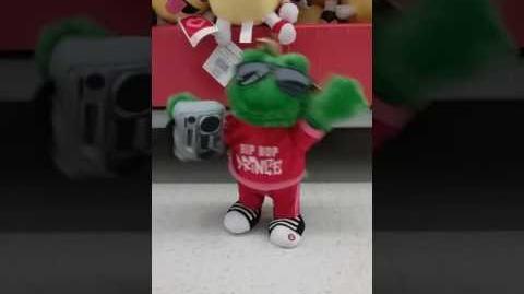 Dancing Valentine Hip Hop Prince Frog