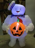 4ft Gemmy Airblown Inflatable Halloween Ghostbusters Stay Puft Prototype