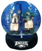 Philidelphia eagles NFL snowglobe inflatable