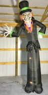 Gemmy Prototype Halloween Inflatable Casual Zombie