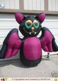 Gemmy inflatable vampire bat