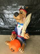 Gemmy Prototype Halloween Inflatable Scooby-Doo as Pirate