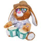 Bongo Playing Easter Bunny