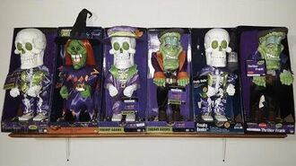 Complete Gemmy Freaky Geeks Collection