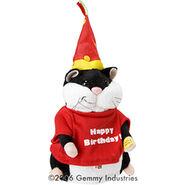 Mini Dancing Hamsters-Birthday Dude