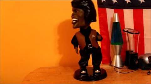Gemmy - Dancin' Shoutin' James Brown