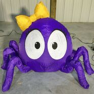 Gemmy Prototype Halloween Inflatable Spider