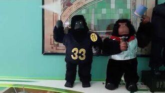 Gemmy Animated Sports Gorilla