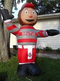 OHIO STATE UNIVERSITY OSU BUCKEYES BRUTUS 8' AIRBLOWN INFLATABLE ~NEW UNUSED