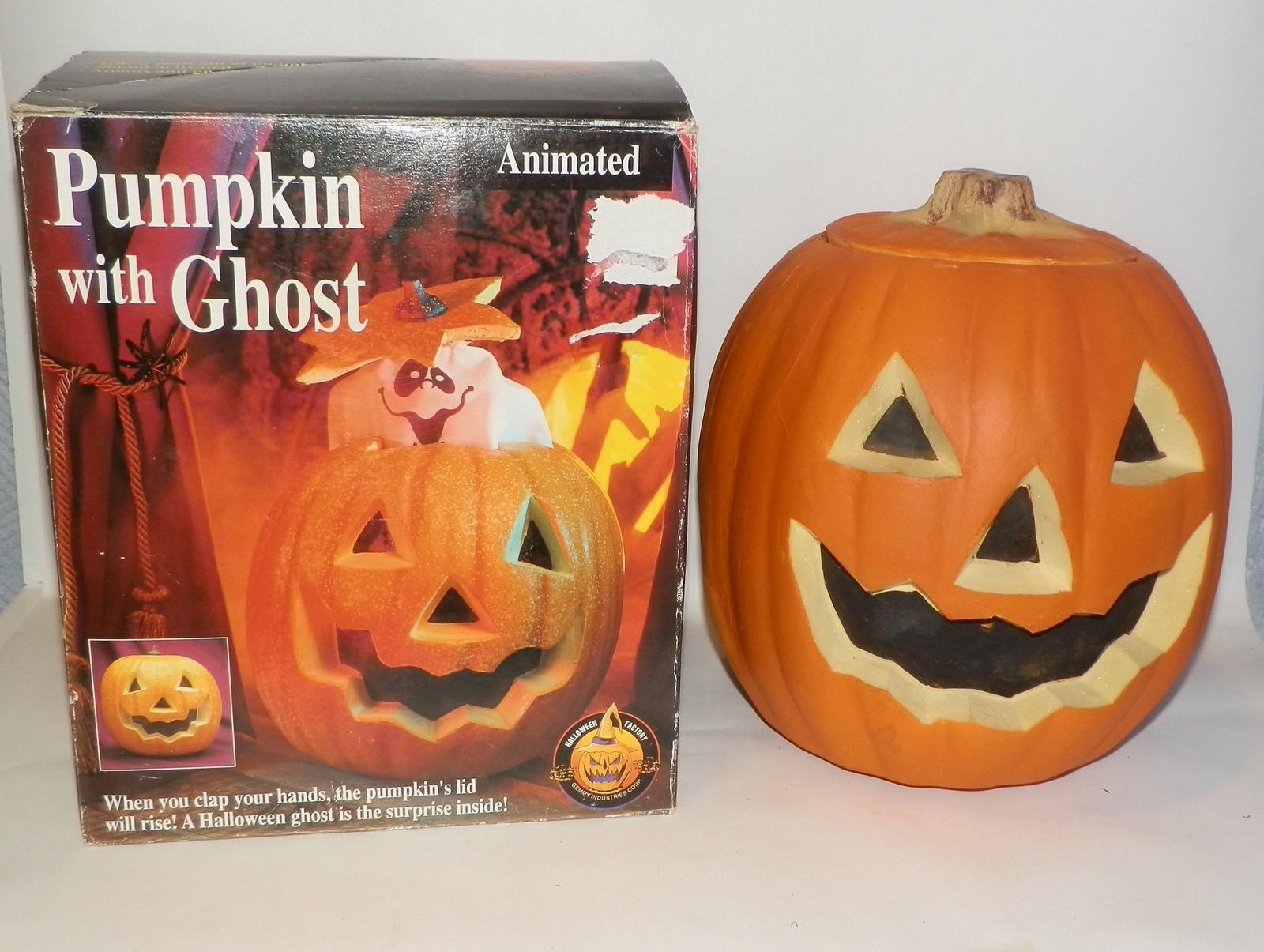 image - animated ghost in pumpkin | gemmy wiki | fandom powered