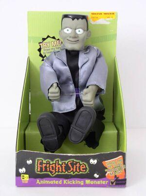 Halloween Frankenstein Animated Kicking Monster Sings The Monster Mash