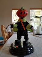 Gemmy Grave Raver Pumpkin Man