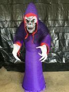 Gemmy Prototype Halloween Inflatable Purple Reaper