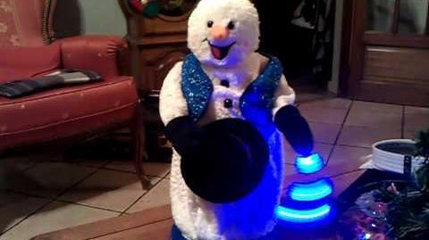 Monsieur bonhomme de neige