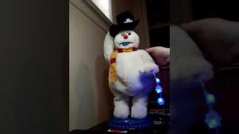 2006 black hat snowflake Spinning frosty