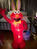 NIB 5' Easter Bunny Elmo. Very Rare.