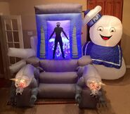 Gemmy Prototype Halloween Ghost Busters Inflatable Airblown