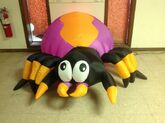 Gemmy inflatable halloween spider