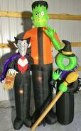 Gemmy Prototype Halloween Inflatable Selfie Scene