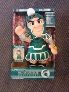 Gemmy Michigan State sparty singing dancing doll
