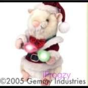 Prototype Holiday Hamster w lights