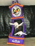 Gemmy Prototype Halloween Inflatable Haunted Clock