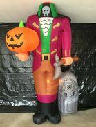 Gemmy Prototype Halloween Inflatable Headless Horseman