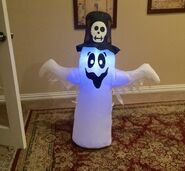 Gemmy Prototype Halloween Voodoo Ghost Inflatable Airblown