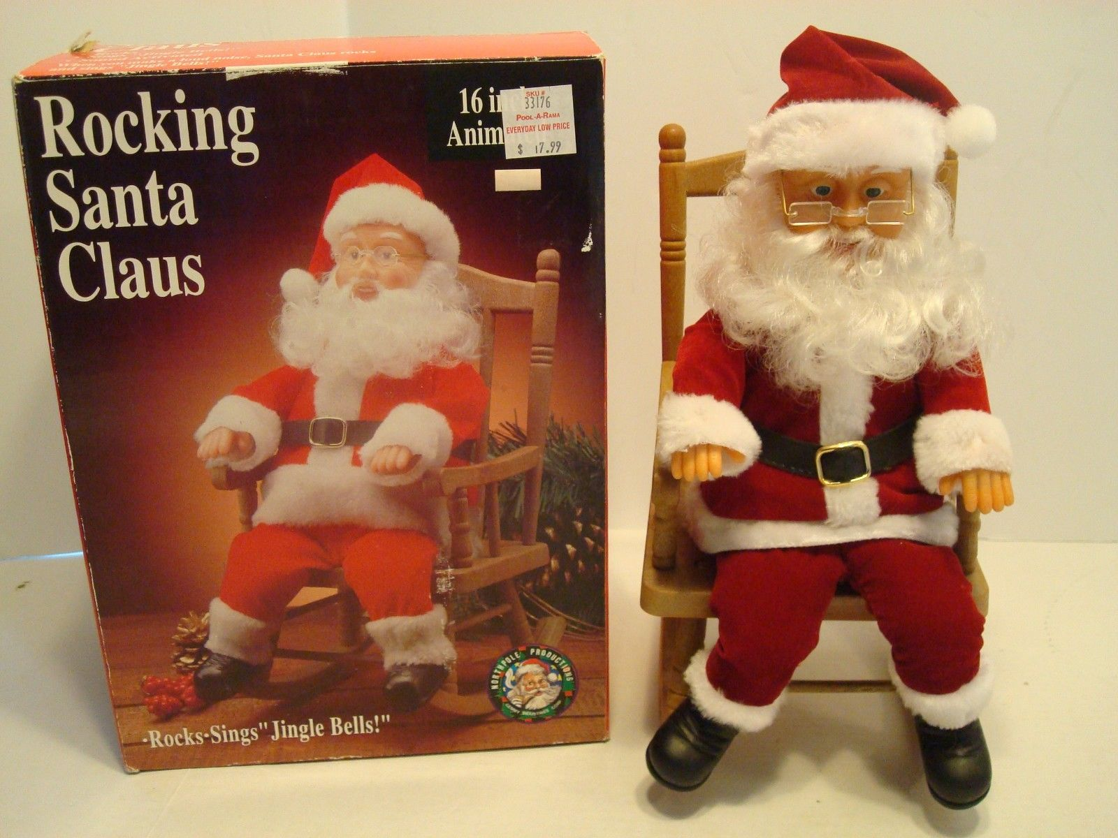 Rocking chair santa gemmy wiki fandom powered by wikia for Animated santa claus decoration