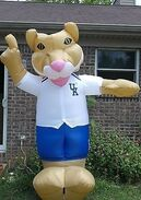 NEW INFLATABLE KENTUCKY UK BASKETBALL LIGHT 8' UNIVERSITY COLLEGE CATS MASCOT