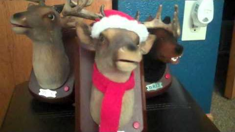 ***MINI BUCK*** (Singing Christmas Deer)