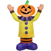 Gemmy 2016 inflatable-Jack-O-Lantern Clown
