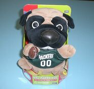 GREEN BAY PACKERS SINGING & DANCING PARTY PUG - NEW