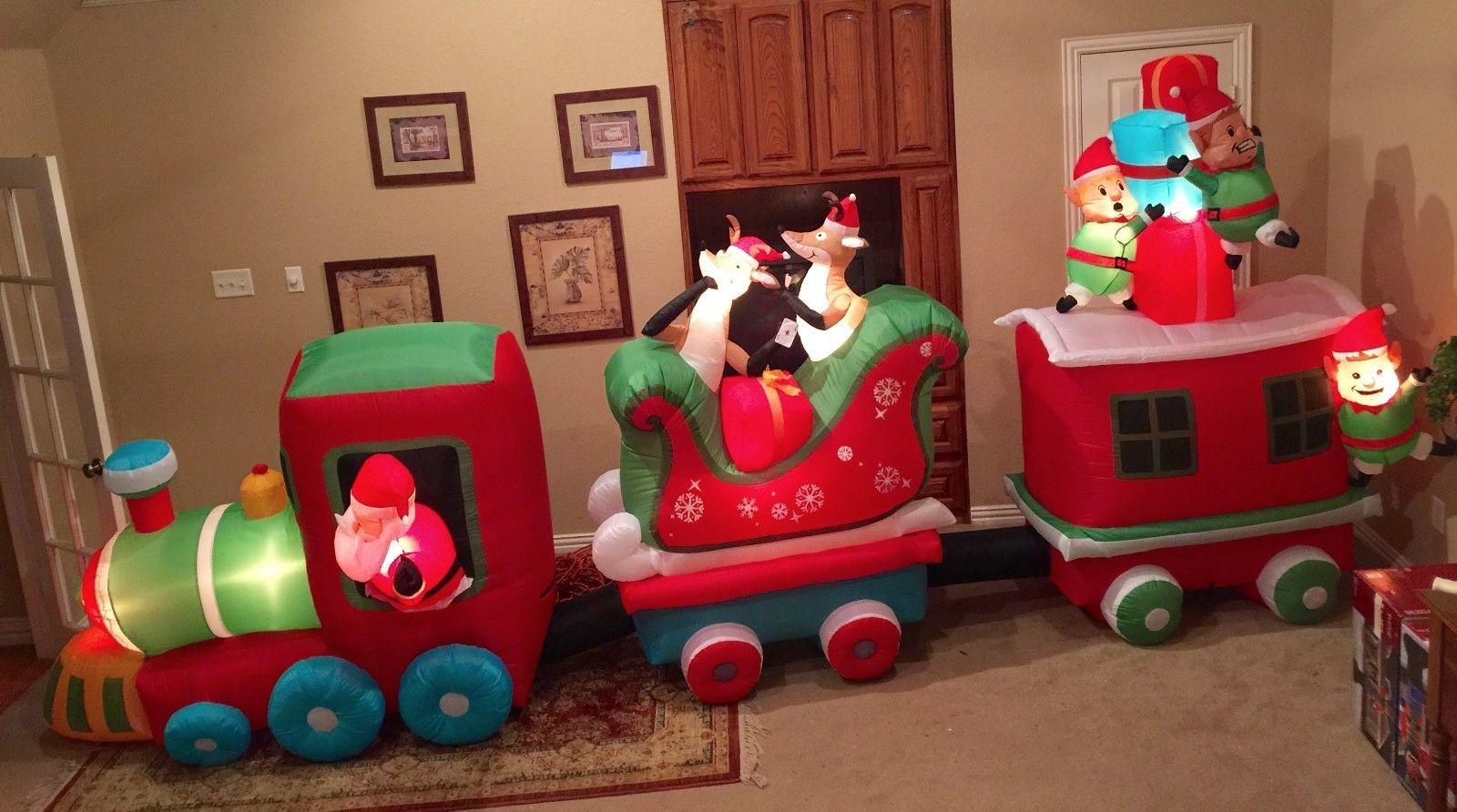 gemmy prototype christmas train inflatable airblownjpg