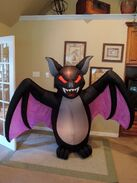 Gemmy inflatable scary vampire bat