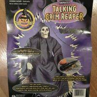 Gemmy talking grim reaper 7