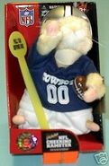 NFL Cheering Hamster-Dallas Cowboys