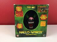 Gemmy Hallo-Wings in Original Box Flying Halloween Decoration Bat
