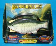Rare Big Mouth Billy Bass The Singing Sensation (REC+PLAY Series) Works