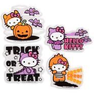 Halloween Gel Clings - Hello Kitty