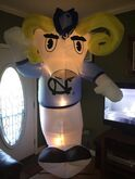 University AIRBLOWN Collection-University Of North Carolina 8 Foot Tall