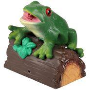 Singing Frog on a Log