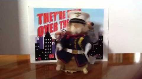 (Gemmy) Dancing Hamster - Sgt. Murphy - Marine Corps Hymn