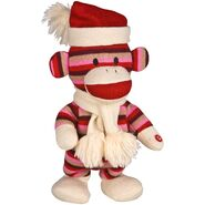 Side Stepping Sock Monkey