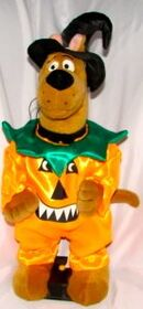15'' Groovin' Scooby Doo Halloween Pumpkin Plush Figure 2