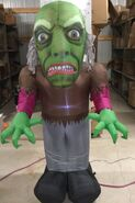 5ft Gemmy Airblown Inflatable Halloween Monster Prototype