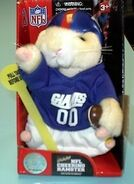 NFL Cheering Hamster-New York Giants