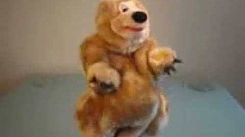 Gemmy animated singing bear (EXTREMELY RARE)